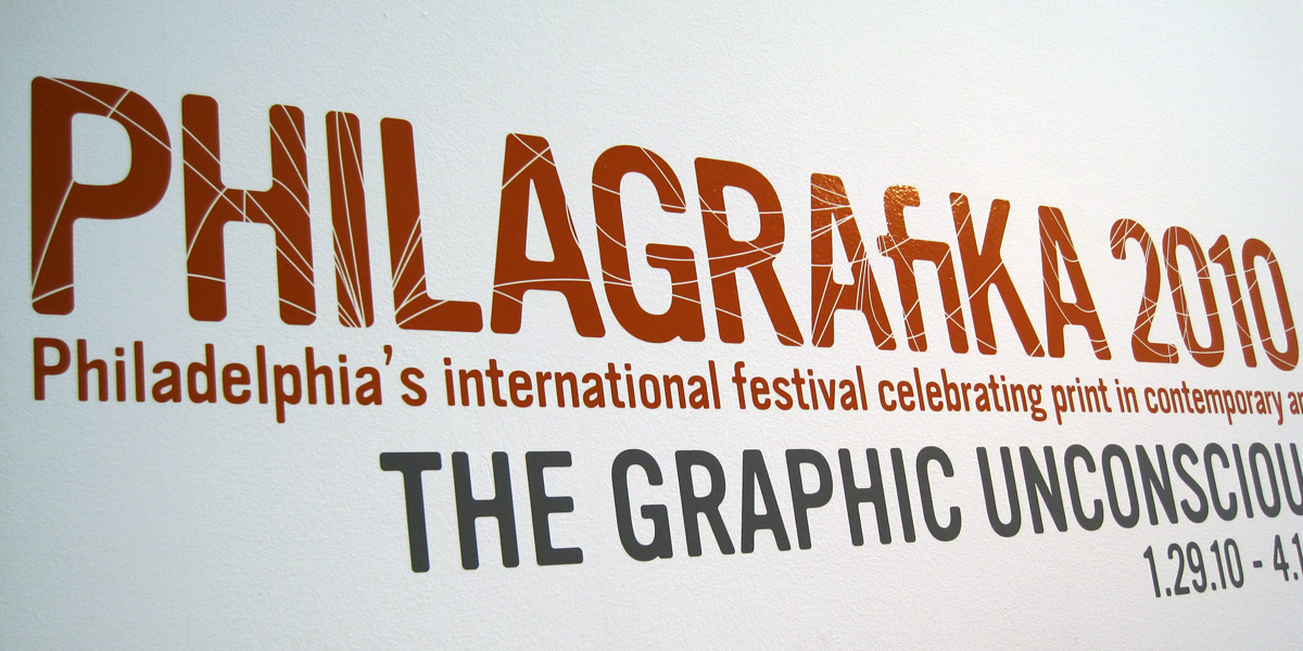 Graphic Designer Exhibition Philly