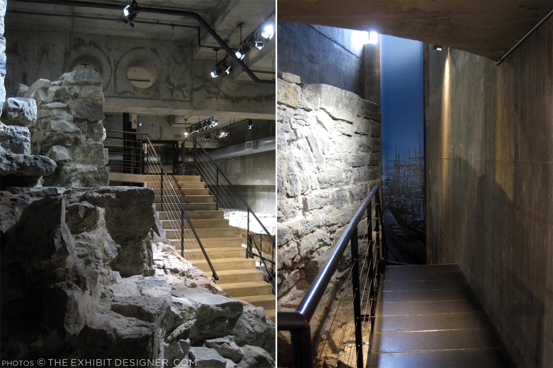 theexhibitdesigner_Pointe-a-Calliere_passageways